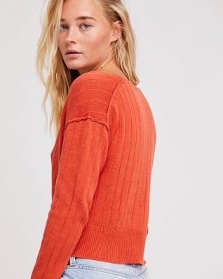 Free People Twisted Pullover