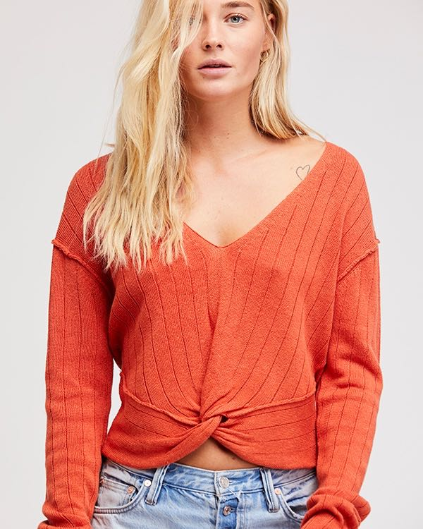 Free People Got Me Twisted sweater