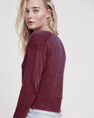 Free People Twisted Sweater