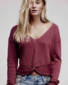 Free People Short Pullover