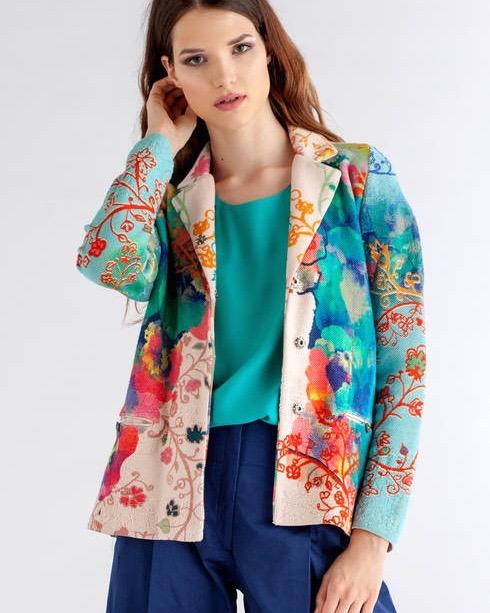 IVKO Jacket Floral Print