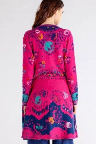 IVKO Pink Long Jacket