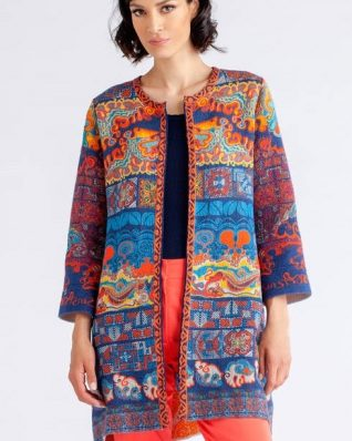 IVKO Printed Coat Spring 2018