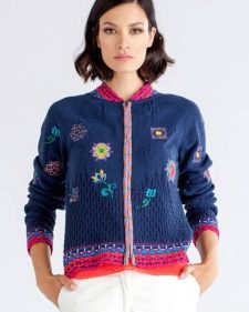 IVKO Jacket with Embroidery Spring 2018