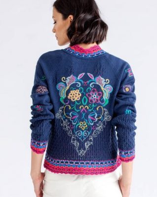 IVKO Spring Jacket Embroidery