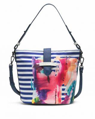 Desigual Rainbow Splash Bag