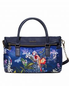 Desigual Blue Loverty Bag