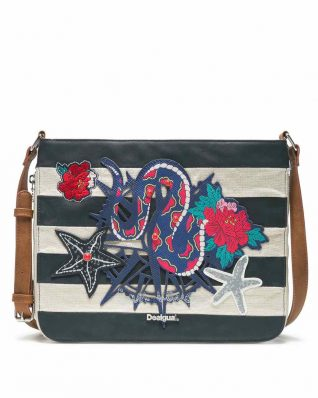 Desigual Snake Sailor Bag