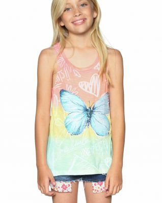 Desigual Colour Fade Girls Top