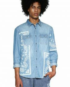 18SMCD01_5053 Desigual Men's Shirt Marc Buy Online