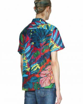 18SMCW51_5189 Desigual Men's Shirt Andrew Canada