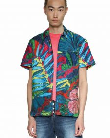 18SMCW51_5189 Desigual Men's Shirt Andrew Buy Online