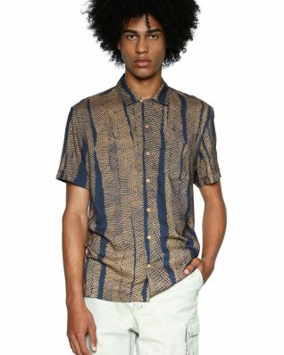 18SMCW53_2089 Desigual Men's Shirt Dennis Buy Online