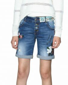 Desigual Denim Shorts Spring Summer 2018
