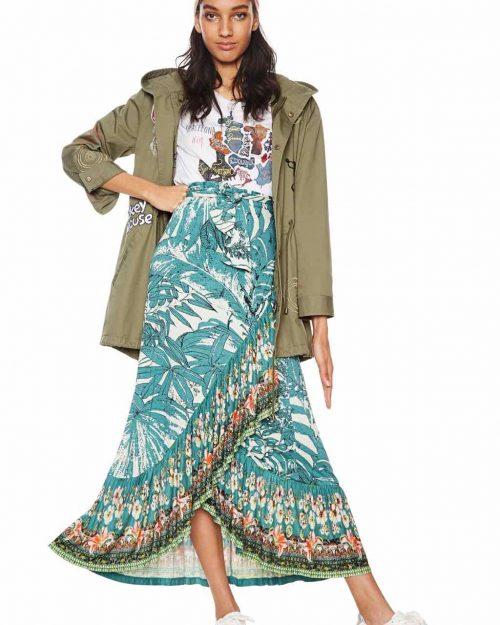 Desigual Maxi Skirt Spring Summer 2018
