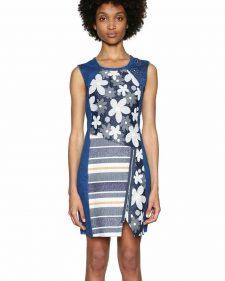 Desigual Asymmetric Dress with Daisies