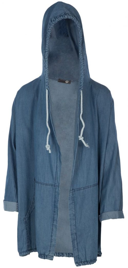 M Made in Italy Vest with Hoodie
