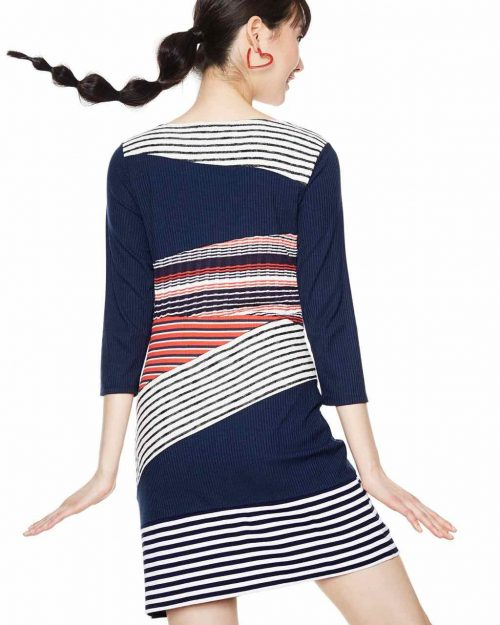 Desigual striped Dress