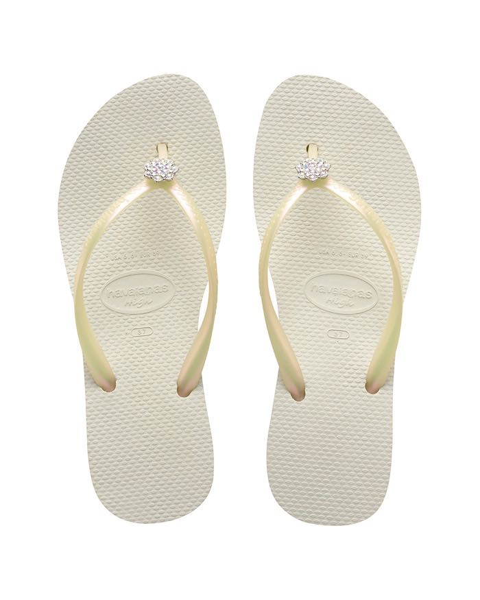 82369ce17194 Havaianas Wedge Flip Flops High Fashion POEM White