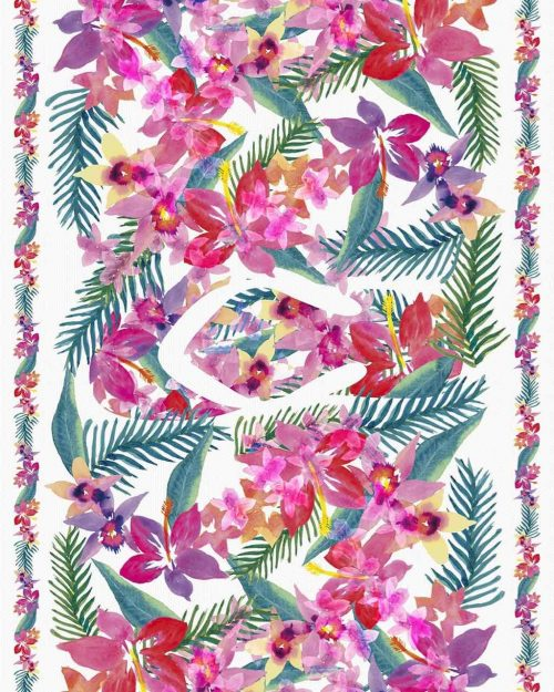 Havaianas Cover Up Floral White