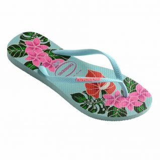 Havaianas Green Pink