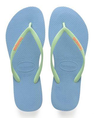 Havaianas Blue flip flops