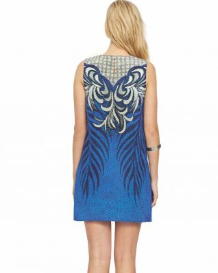 Gottex Silk Blue Dress, buy online