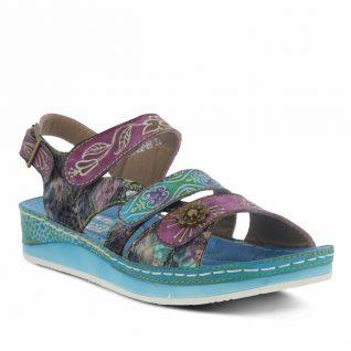 L'Artiste by Spring Step Blue Sandals