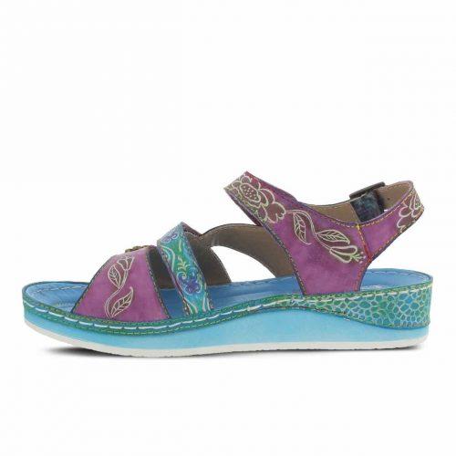 L'Artiste by Spring Step Aqua Sandals