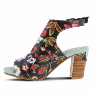 L'Artiste by Spring Step Black Sandals