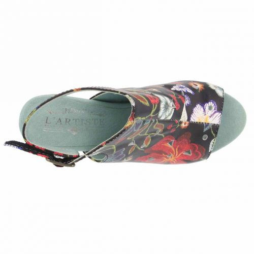L'Artiste by Spring Step Tapestry Sandals