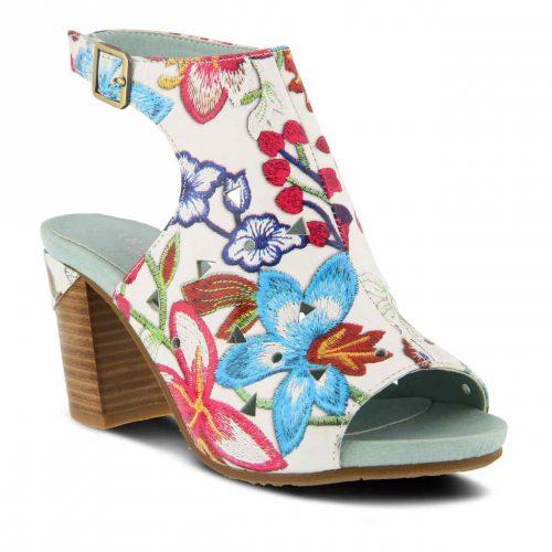 L'Artiste by Spring Step Floral Sandals