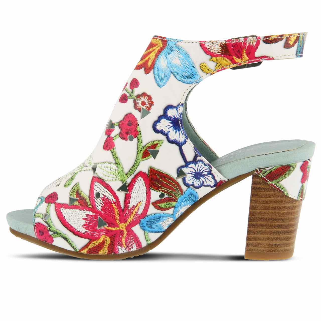 L'Artiste by Spring Step Leather Sandals - Tapestry purchase 7YdFCxpt