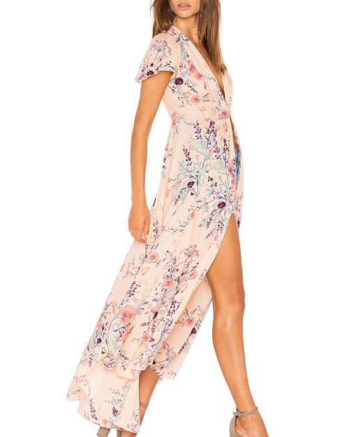 Free People Floral Robe