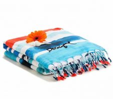 Desigual Towel Blue