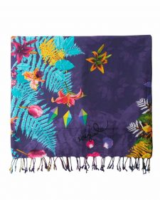 Desigual Purple Towel