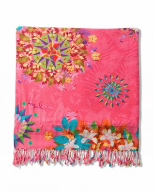 Desigual Towel Pink Galactic