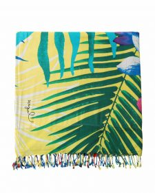 Desigual Towel Tropical Design
