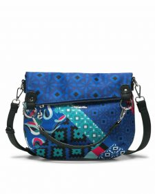 Desigual Blue Folded Bag Summer 2018