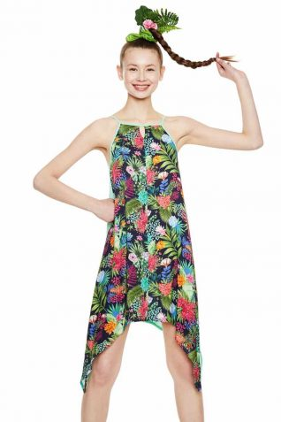 Desigual Summer Dress Psycho