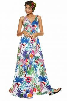Dresigual Long Maxi Dress Jasmine