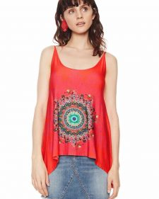 Desigual T-Shirt Geneviere Red