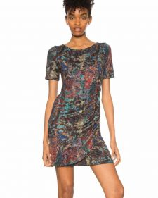 Desigual Draped Dress Harmonie