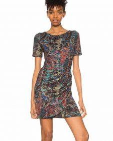 Desigual Draped Dress Harmonie