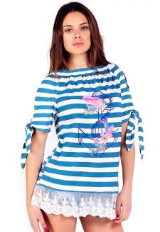 Savage Culture Capri T-Shirt Nautica