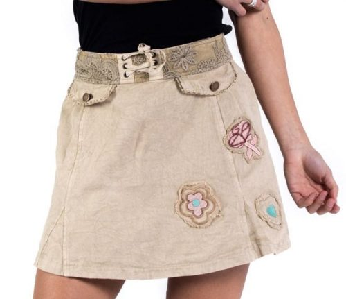 Savage Culture Cotton Skirt