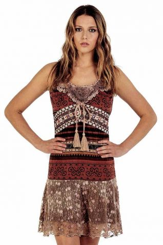 Savage Culture Brown Summer Dress 2018