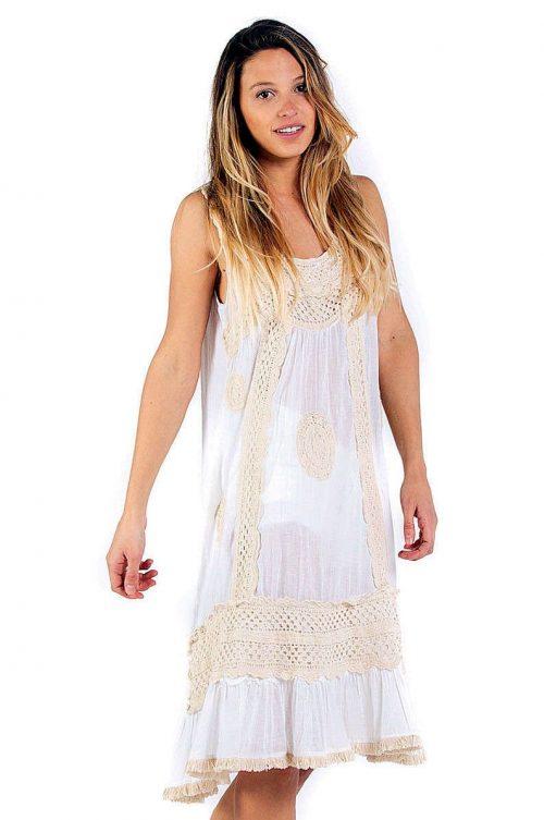 Savage Culture Summer Cotton Dress