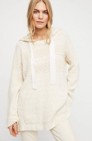 Free People Crochet Pullover