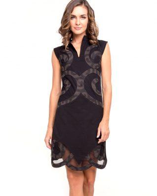 Pygmees Dress Spirale Black